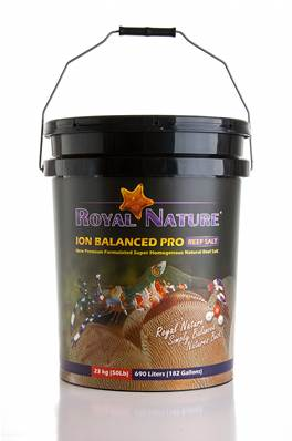 "SAL ROYAL NATURE ""ION BALANCED"" 5+1 23 KG CUBO"